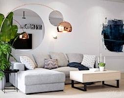 077 _ Dom w Żorach _ SALON - zdjęcie od Spacja Studio - Homebook