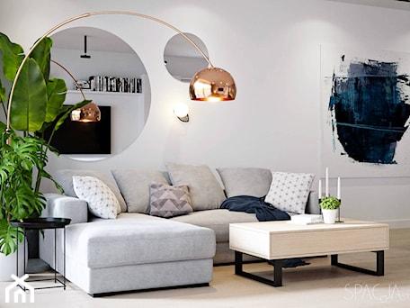 Aranżacje wnętrz - Salon: 077 _ Dom w Żorach _ SALON - Spacja Studio. Przeglądaj, dodawaj i zapisuj najlepsze zdjęcia, pomysły i inspiracje designerskie. W bazie mamy już prawie milion fotografii!