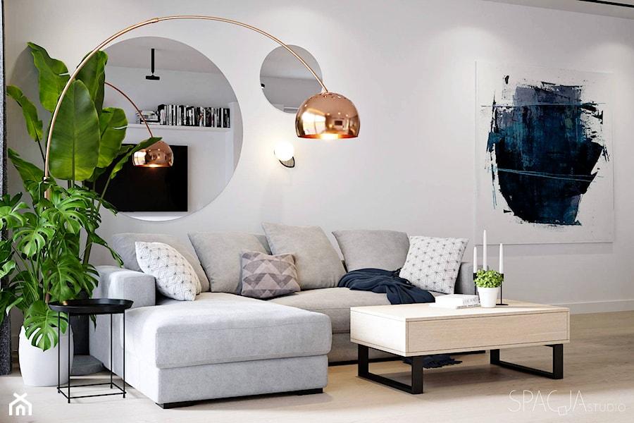 077 _ Dom w Żorach _ SALON - zdjęcie od Spacja Studio