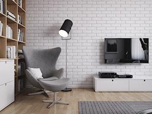 Salon - DOM W ŁAZACH - Spacja Studio