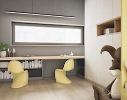 Dom w Gliwicach - POKÓJ DZIECIĘCY - Spacja Studio - zdjęcie od Spacja Studio