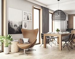 Mieszkanie w Gliwicach - SALON - Spacja Studio - zdjęcie od Spacja Studio