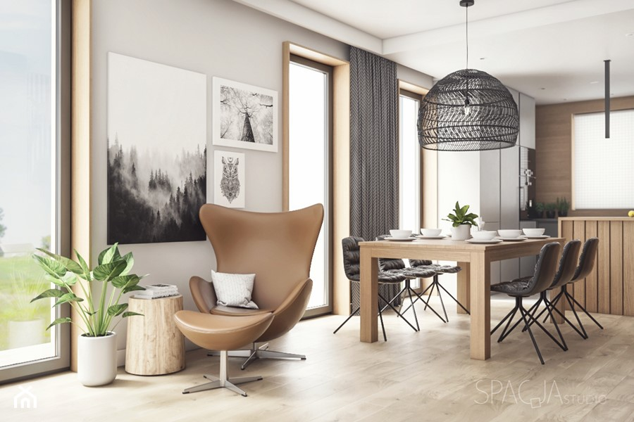 Aranżacje wnętrz - Jadalnia: Mieszkanie w Gliwicach - SALON - Spacja Studio - Spacja Studio. Przeglądaj, dodawaj i zapisuj najlepsze zdjęcia, pomysły i inspiracje designerskie. W bazie mamy już prawie milion fotografii!