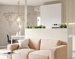 078 _ Mieszkanie w Krakowie _ SALON - zdjęcie od Spacja Studio - Homebook