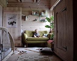 Dom - Średni pokój dziecka dla chłopca dla dziewczynki dla niemowlaka dla malucha, styl eklektyczny - zdjęcie od Julia Rozumek