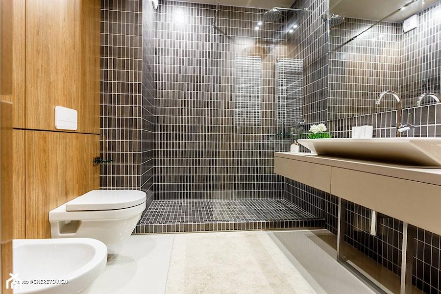 Rezydencja ArtEco - Średnia łazienka w domu jednorodzinnym bez okna, styl nowoczesny - zdjęcie od RB ARCHITECTS