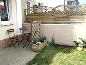 #meblezapalet - Mały ogród za domem - zdjęcie od mglodzik