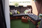 meble balkonowe z palet