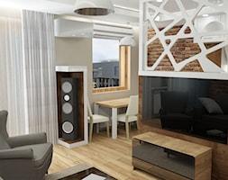 salon z akcentem - zdjęcie od Inspirem