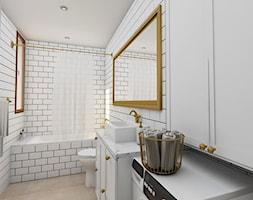 łazienka Z Białymi Płytkami Aranżacje Pomysły Inspiracje