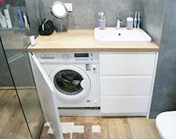Słodowiec City - Średnia łazienka, styl nowoczesny - zdjęcie od MagnesDesign