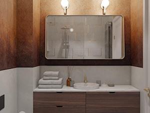 KRZM Podgórze Kraków Apartment - Łazienka, styl eklektyczny - zdjęcie od STELLARstudio
