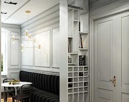 M Kraków Old Town Apartment - Mały szary salon, styl nowojorski - zdjęcie od STELLARstudio