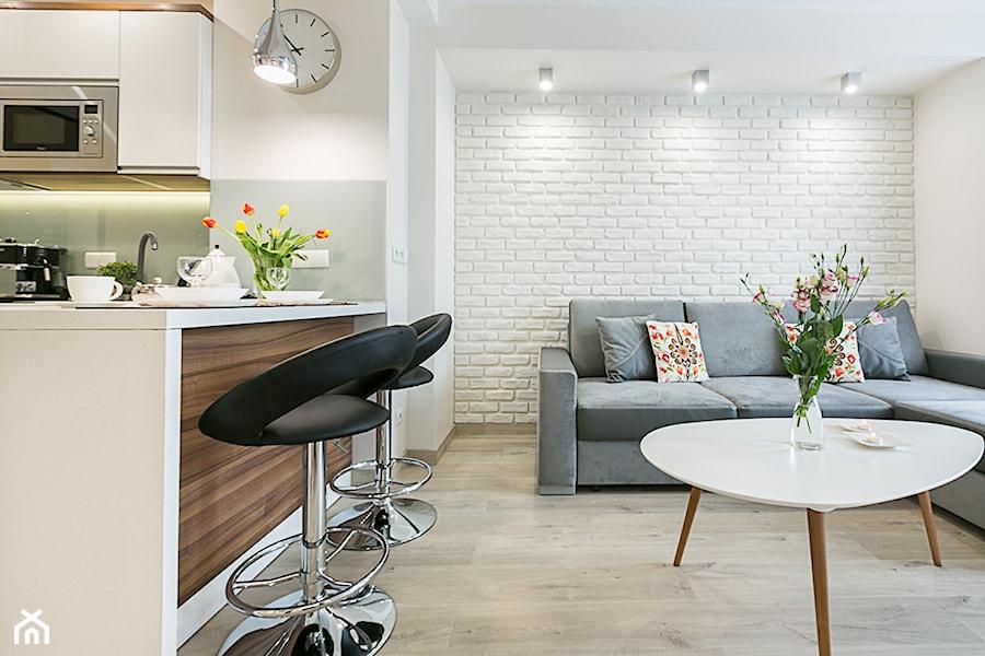 Aranzacja Apartamentu W Zakopanem Relax Lux Maly Bialy Salon Z