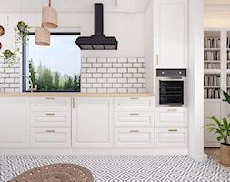 DOM W OKOCIMIU / kuchnia + jadalnia - Kuchnia, styl skandynawski - zdjęcie od MADO DESIGN - Homebook
