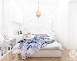 Projekt sypialni w stylu orientalnym, Projekt wnętrza ...