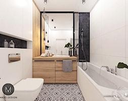 łazienka Z Podblatową Umywalką Aranżacje Pomysły