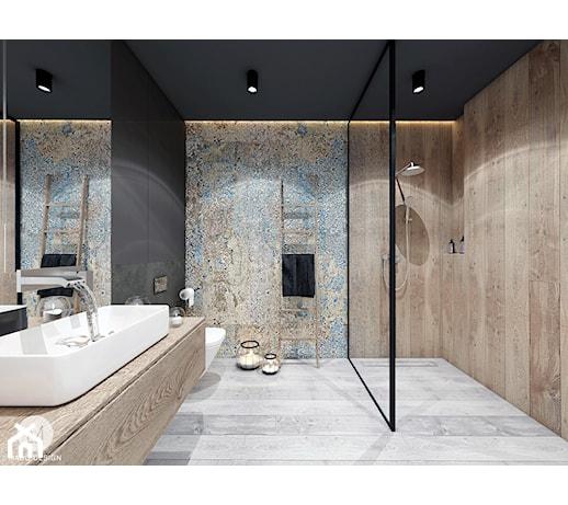 łazienka Płytki I Farba Projekty I Wystrój Wnętrz