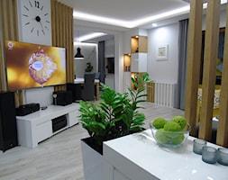 Salon+-+zdj%C4%99cie+od+STUDIO+WHITE+Architektura+Wn%C4%99trz