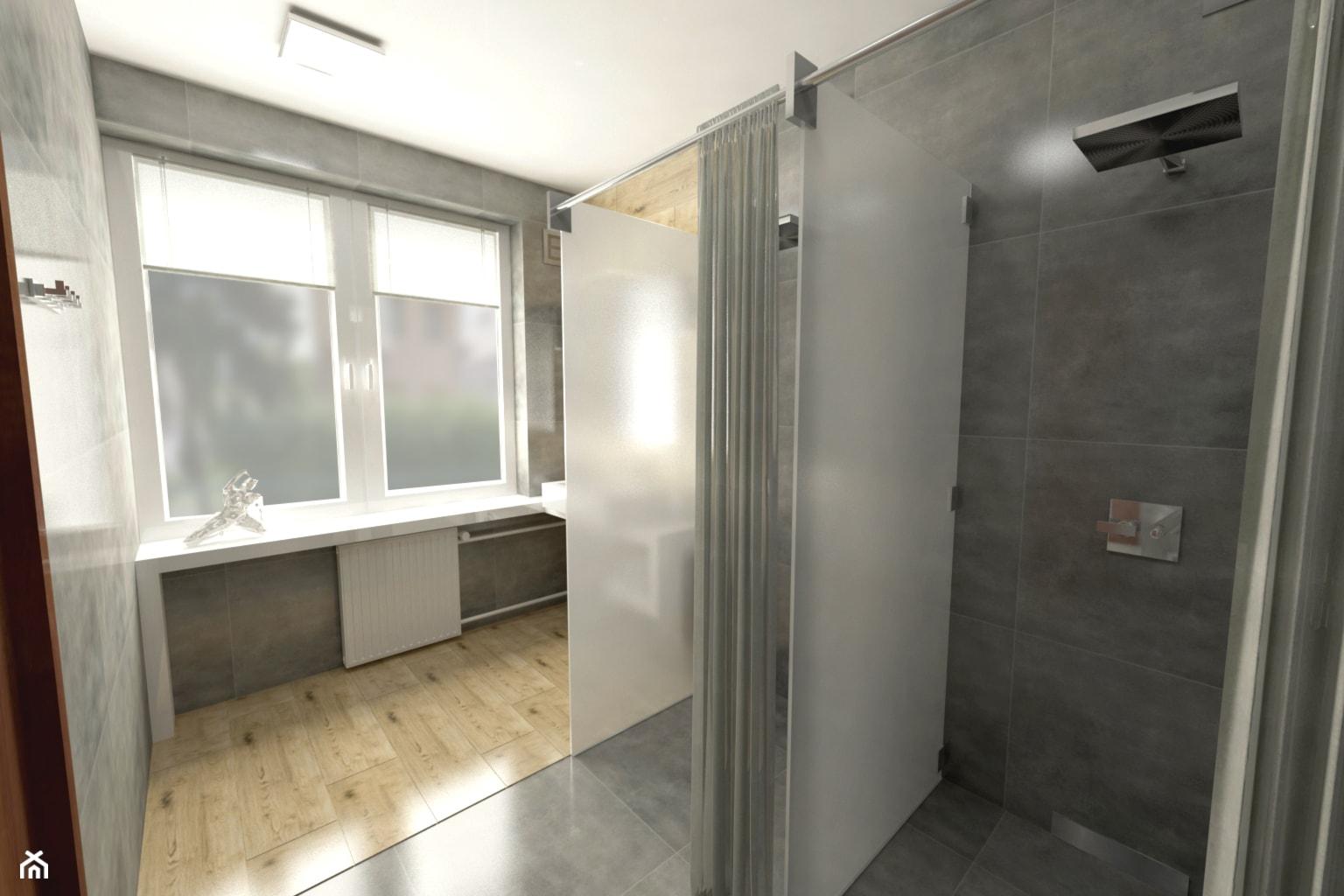 Szalet prysznicowy ok 10m² 2 - zdjęcie od MAKAREWICZ Projekt - Homebook
