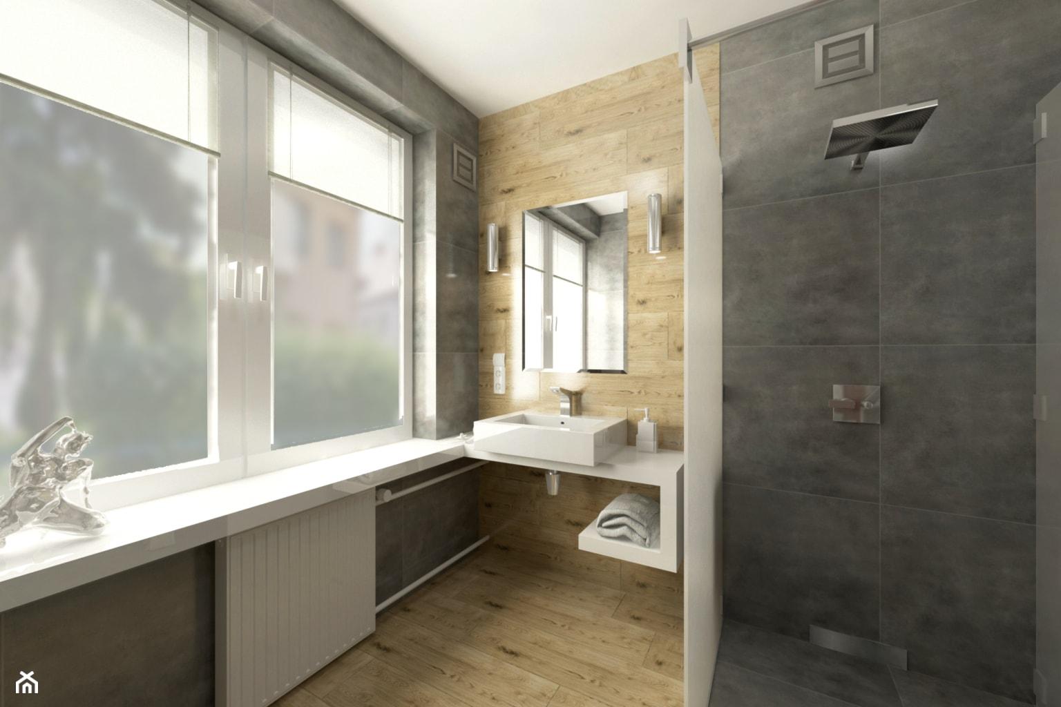 Szalet prysznicowy ok 10m² 1 - zdjęcie od MAKAREWICZ Projekt - Homebook