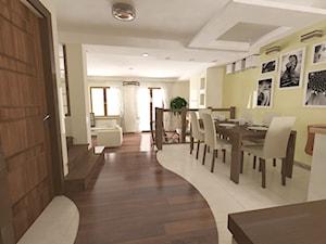 Dom w zabudowie szeregowej 180m² oś. Klepacze Białystok - zdjęcie od MAKAREWICZ Projekt