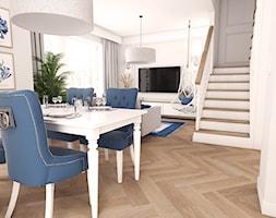 Dom w stylu hampton - Jadalnia, styl skandynawski - zdjęcie od art-park sp. z o.o. - Homebook