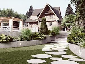 Projekt ogrodu przydomowego Zakopane