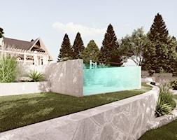 Projekt ogrodu przydomowego Zakopane - Ogród, styl nowoczesny - zdjęcie od art-park sp. z o.o. - Homebook