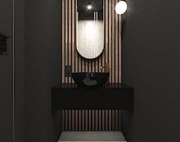 Nowoczesne wnętrze z dodatkami złota - Łazienka, styl nowoczesny - zdjęcie od art-park sp. z o.o. - Homebook