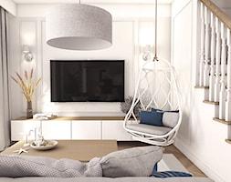 Dom w stylu hampton - Salon, styl skandynawski - zdjęcie od art-park sp. z o.o. - Homebook