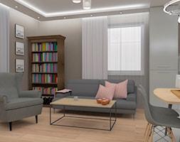 Salon+z+biblioteczk%C4%85+-+zdj%C4%99cie+od+MIMIDESIGN