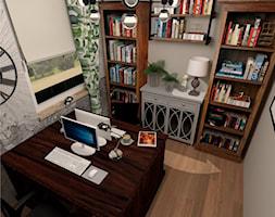 Biuro w domowym zaciszu. - zdjęcie od LS Lempart Studio