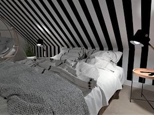 sypialnia na poddaszu - zdjęcie od LS Lempart Studio