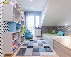Wąski pokój dziecka - aranżacje, pomysły, inspiracje