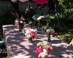 ogród magiczny - Średni ogród za domem, styl glamour - zdjęcie od ur
