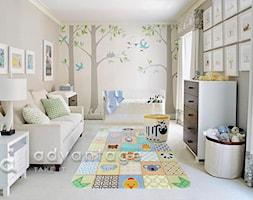 Średni szary pokój dziecka dla chłopca dla dziewczynki dla niemowlaka - zdjęcie od ADvantager
