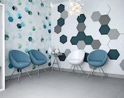 Pomysł na ścianę, aranżacja ściany, Fluffo panele ścienne 3D (www.pekastudio.com) - zdjęcie od Fluffo, Fabryka Miękkich Ścian