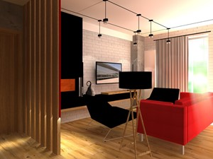 Dla Miłośników Sztuki POP-ART - Mały biały salon, styl nowoczesny - zdjęcie od 2A DESIGN