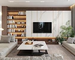 Salon - zdjęcie od KANDO ARCHITECTS - Homebook