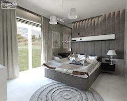 Przytulna sypialnia w beżach i brązach - Sypialnia, styl klasyczny - zdjęcie od Strzelecka Design - Homebook
