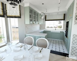 Mieszkanie w klasycznym stylu - Kuchnia, styl klasyczny - zdjęcie od Strzelecka Design - Homebook