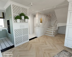 Mieszkanie w klasycznym stylu - Hol / przedpokój, styl klasyczny - zdjęcie od Strzelecka Design - Homebook