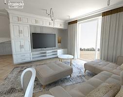 Mieszkanie w klasycznym stylu - Salon, styl klasyczny - zdjęcie od Strzelecka Design - Homebook