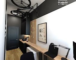 Gabinet w dobie home office - Biuro, styl nowoczesny - zdjęcie od Strzelecka Design - Homebook