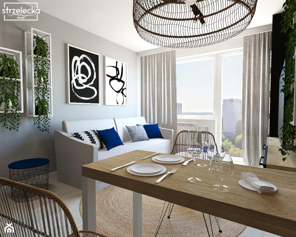 Salon w loftowym klimacie - Salon, styl nowoczesny - zdjęcie od Strzelecka Design - Homebook