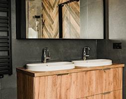 łazienka w industrialnym klimacie - Łazienka, styl industrialny - zdjęcie od Strzelecka Design - Homebook
