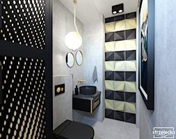 Mała Łazienka w loftowym klimacie - Łazienka, styl industrialny - zdjęcie od Strzelecka Design - Homebook