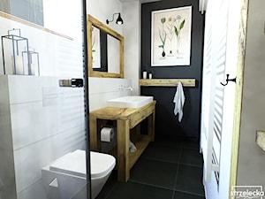 Łazienka w stylu Modern Farmhouse