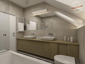 Łazienka 8 m2 - zdjęcie od Retro Studio